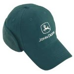 John Deere Spruce Winter Heavy Twill Cap