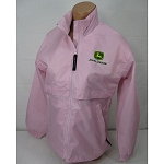 John Deere Pink Women's Squall Packable Jacket - STPSJ