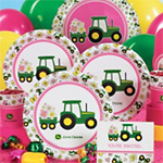 John Deere Pink Birthday Express Party Supplies