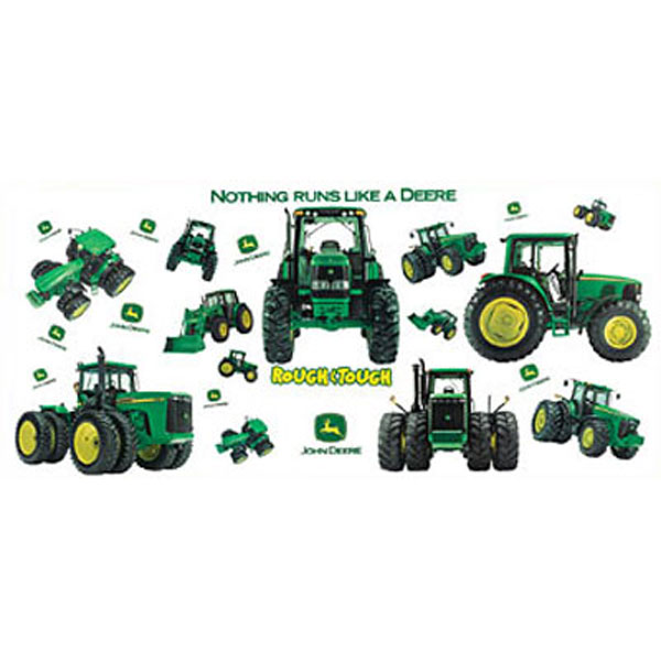 John Deere Wall Decor : Wall decor john deere room ornament