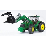 John Deere Bruder 16th scale 7930 Tractor with Loader - LP53296