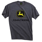John Deere Dark Heather Trademark T-Shirt