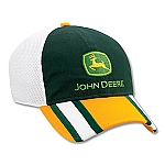 John Deere Flex Fit Cap with Athletic Mesh Back - JD02766