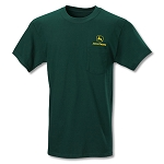 John Deere Forest Green Pocket Tee
