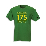 John Deere 175th Anniversary Custom Green T-shirt - JD05635