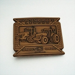 John Deere Contemporary Legends Limited Edition 2006 Copper Belt Buckle 8420T and 8420 Tractors - JP1153