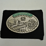 John Deere Contemporary Legends Limited Edition 2010 Silver Belt Buckle 6th in Series - JP1516 - Very rare