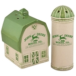 John Deere Barn & Silo Salt and Pepper Shaker Set - LP51582