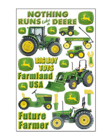 ... john deere scrapbooking john deere tractor epoxy scrapbook stickers