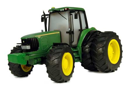 John deere toy big farm 7430 tractor with duals and lights n sound