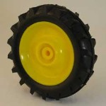 Right Hand Front Wheel with Tire for Die-cast Pedal Tractor