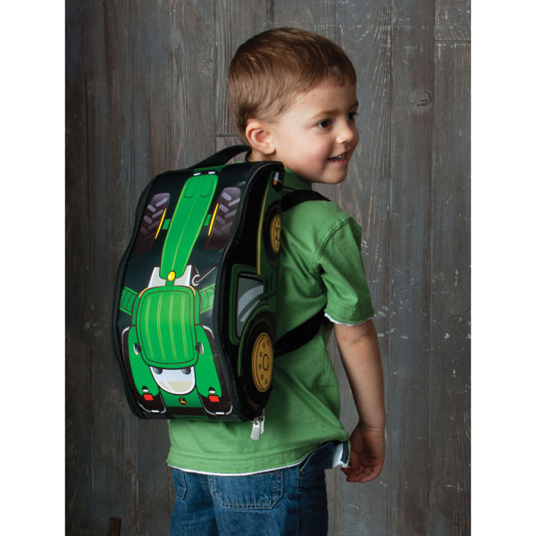 John Deere Take Along Backpack with Tractor - TBEK46012