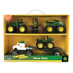 John Deere 5-inch Monster Treads 6-Piece Value Set - 46053