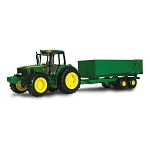 John Deere Big Farm 6930 Tractor with Lights N Sound and Wagon - TBEK46077