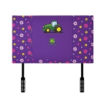 John Deere Kids Girls Twin Sized Upholstered Headboard - TBEK46125