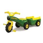 John Deere Trike and Wagon Set - TBEK46088