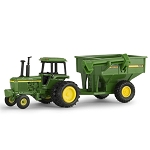 John Deere 1:64 scale 4430 Tractor with Grain Cart Toy - 45534