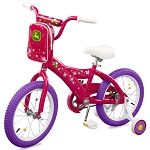 John Deere 16-inch Pink Girls Bicycle - 46451