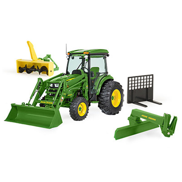 loaders toys r us with John Deere Big Farm 4066r Tractor With Implements Lp64457 on Loader Backhoes in addition  additionally 4000 Crawler moreover N Scale Intermodal Cranes Loaders as well .