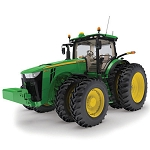 John Deere 1:32 scale Prestige Collection 8345R Tractor - 45473