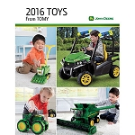 2016 John Deere Toy Catalog, Pocket size or Full size - LP65033 - LP65034