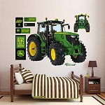 John Deere Fathead 6210R Tractor Large Vinyl Wall Graphic - LP55413