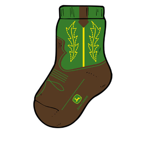 john deere socks youth toddler john deere toddler western boot socks ...
