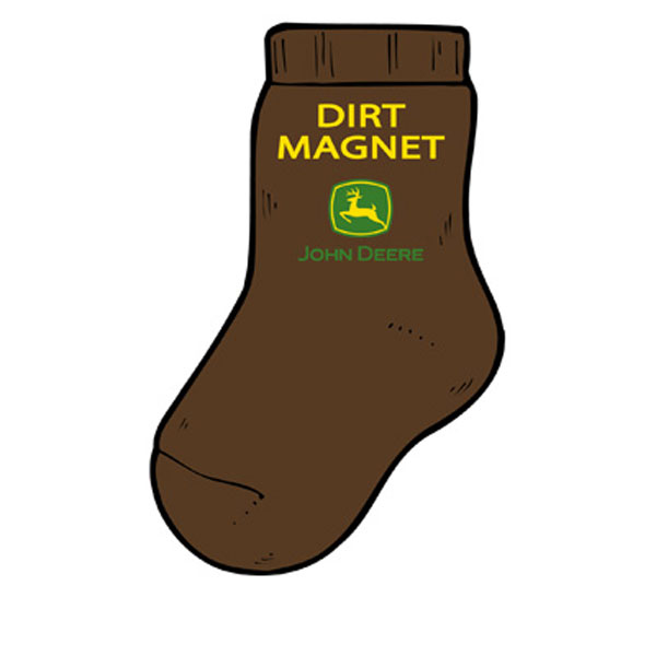 john deere socks youth toddler john deere toddler dirt magnet socks ...