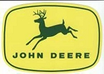 John Deere 4-Leg Leaping Deere Decal 3.00-in x 2.118-in - JD5251