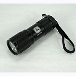 John Deere 9-LED Compact Flashlight for Him - Black - SW11049