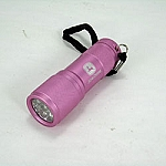 John Deere 9-LED Compact Flashlight for Her - Pink - SW11059