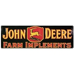 John Deere Farm Implement Reproduction Large Metal Sign - 06028