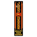 John Deere Quality Farm Equipment Reproduction Large Metal Sign - 99130