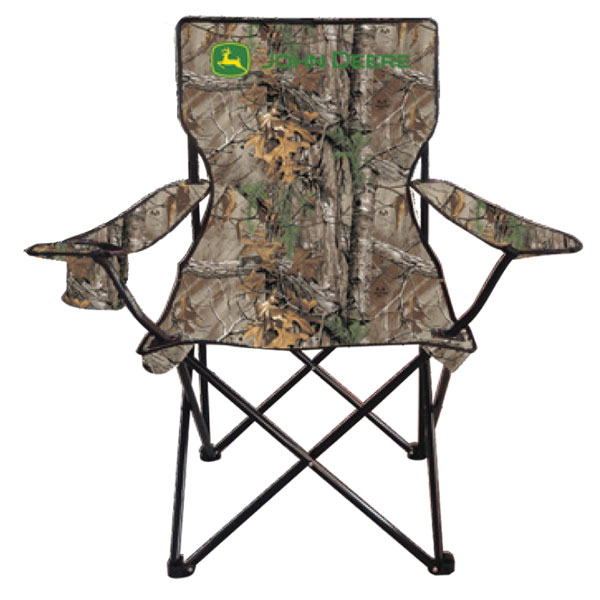 John Deere Oversized Camo Folding Camp Chair with Bag - LP51705