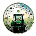 John Deere Metal Outdoor Thermometer - LP53521