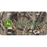 John Deere Realtree Camo License Plate - LP53525