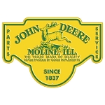 John Deere Moline Die-Cut Sign - 16108