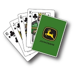 John Deere Trademark Playing Cards - 16115