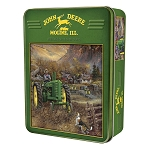 John Deere 1000-Piece Puzzle in Collectible Tin - Autumn in Deere Country - 71236