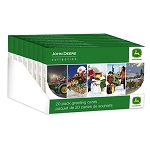 John Deere Holiday Greeting Card 20-pack - LP51676