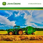 John Deere 2016 Mini 7-inch Photo Calendar - LP64759