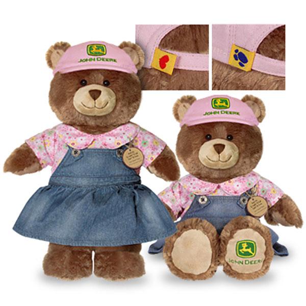 John Deere Teddy Bears : John deere build a bear jdbear