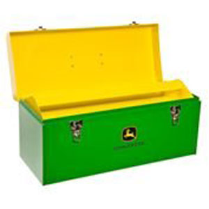John Deere 20 Inch Green And Yellow Hand Carry Toolbox
