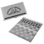 John Deere Travel Chess and Checkers Game