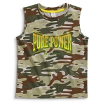 John Deere Pure Power Camo Sleeveless Children's T-Shirt - JSBT021J1C1