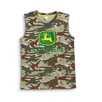John Deere Camo Sleeveless Youth T-Shirt - JSBT027J1Y1