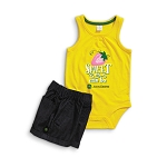 John Deere Sweet Infant Onesie and Short Set - JSGS007Y1F1