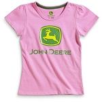 John Deere Pink Youth T-Shirt -  JSGT013P2Y3