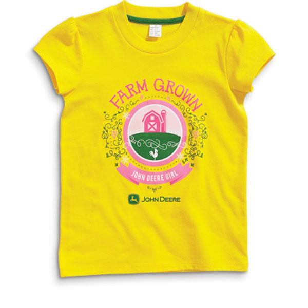 John deere farm grown children 39 s t shirt jsgt020y1c2 for John deere shirts for kids