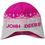 John Deere Youth Pink Knit Hat - LP54053
